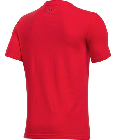 UNDER ARMOUR JR HOCKEY WORDMARK SS T 2.0 RED