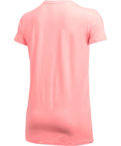 UNDER ARMOUR SR SPORTSTYLE CREW SS T-SHIRT PINK