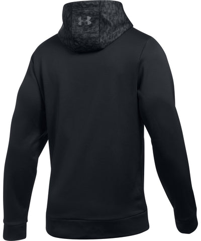 UNDER ARMOUR AF HOODY DIGI TEXTURE BLACK
