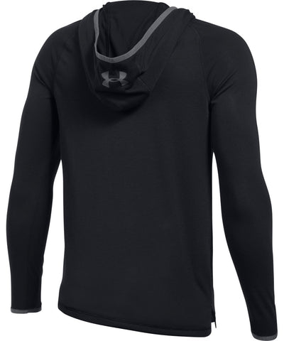 UNDER ARMOUR JR THREADBORNE HOODY BLACK
