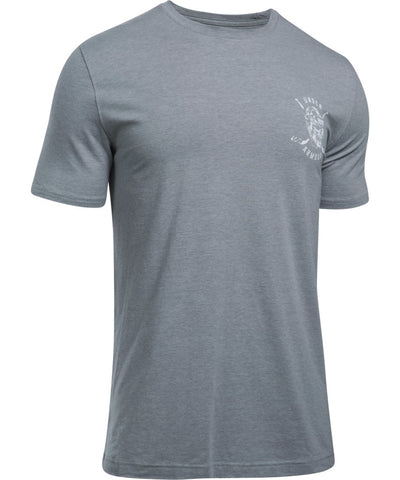 UNDER ARMOUR SR  HOCKEY SKULL GREY