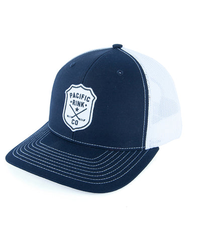 PACIFIC RINK MEN'S SHERIFF RETRO TRUCKER - NAVY