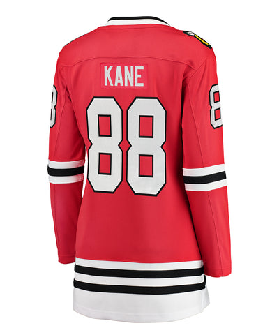 PATRICK KANE CHICAGO BLACKHAWKS FANATICS WOMEN'S BREAKAWAY JERSEY