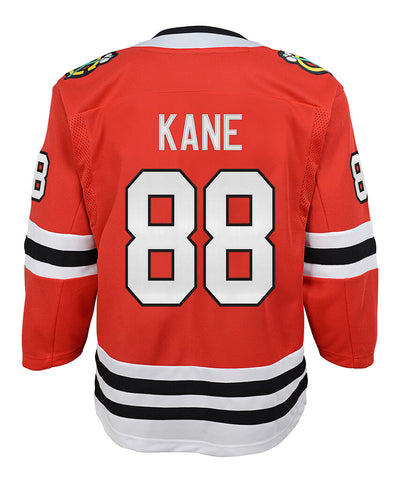 PATRICK KANE CHICAGO BLACKHAWKS KID'S PREMIER JERSEY