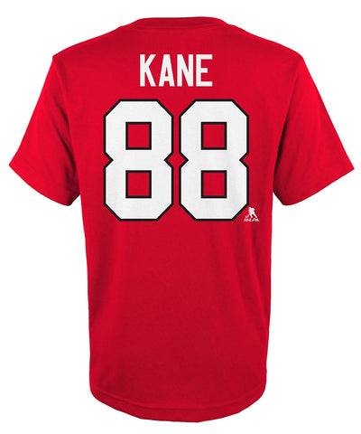 PATRICK KANE CHICAGO BLACKHAWKS JUNIOR PLAYER T SHIRT