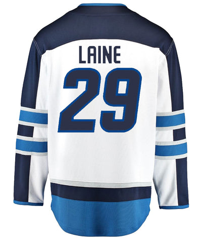 FANATICS WINNIPEG JETS PATRIK LAINE MENS AWAY BREAKAWAY JERSEY