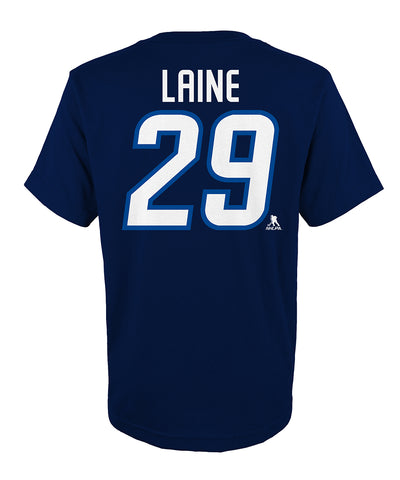 PATRIK LAINE WINNIPEG JETS JUNIOR PLAYER T SHIRT