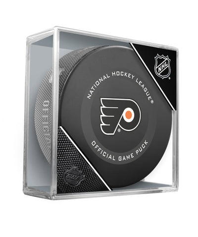 PHILADELPHIA FLYERS 2019 OFFICIAL GAME PUCK