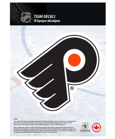 "PHILADELPHIA FLYERS 5"" X 7"" NHL TEAM DECAL"
