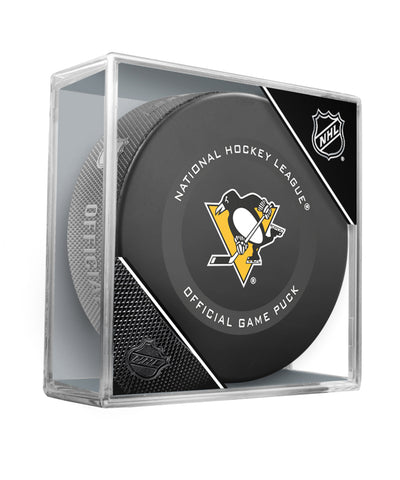 PITTSBURGH PENGUINS 2019 OFFICIAL GAME PUCK