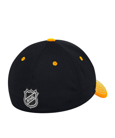 PITTSBURGH PENGUINS ADIDAS SR LOCKER ROOM STRUCTURED FLEX HAT
