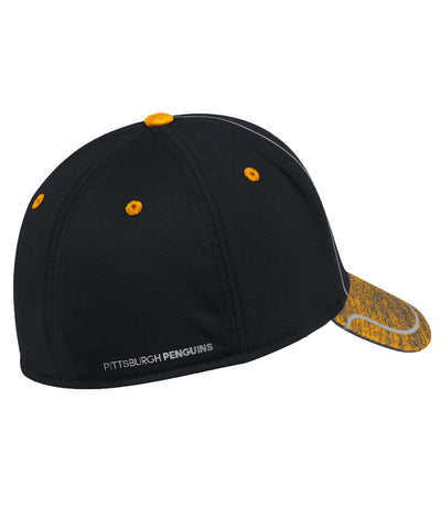 PITTSBURGH PENGUINS ADIDAS MEN'S 2018 NHL STRUCTURED DRAFT HAT