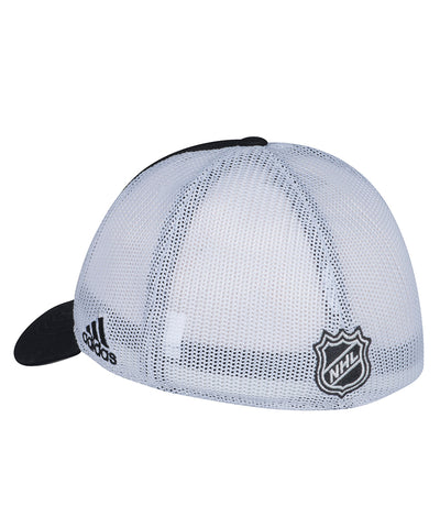 PITTSBURGH PENGUINS ADIDAS MESHBACK SLOUCH FLEX HAT