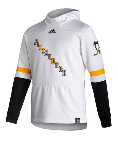 PITTSBURGH PENGUINS ADIDAS MEN'S REVERSE RETRO UNDER THE LIGHTS PULLOVER HOODIE