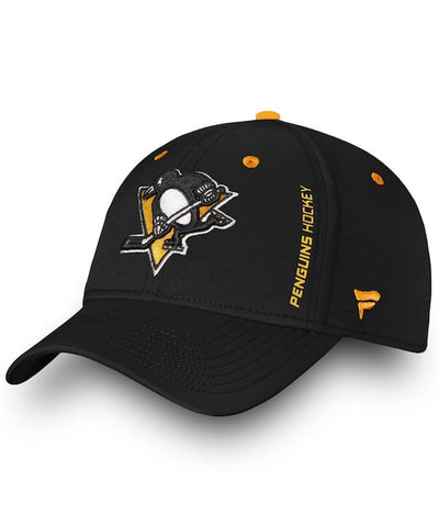 PITTSBURGH PENGUINS FANATICS MEN'S RINKSIDE SPEED FLEX HAT