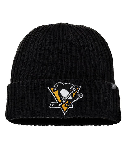 FANATICS PITTSBURGH PENGUINS CORE KNIT TOQUE