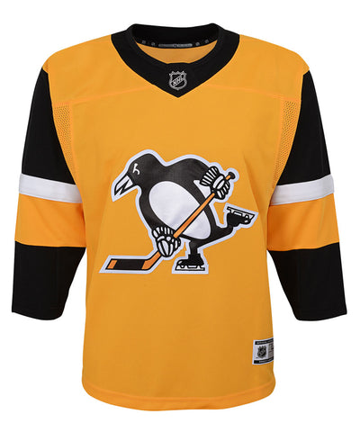 PITTSBURGH PENGUINS JUNIOR PREMIER THIRD JERSEY 3063f6a57
