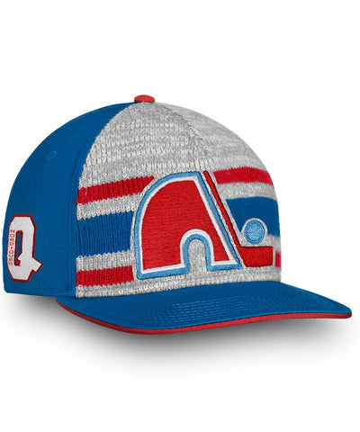 FANATICS QUEBEC NORDIQUES TRUE CLASSIC DISPATCH SNAPBACK HAT