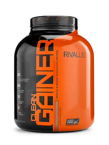 RIVALUS CLEAN GAINER PROTEIN- CHOCOLATE
