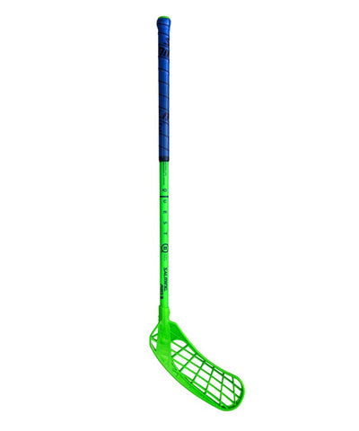 SALMING CANADA KIDS Q2 FLOORBALL STICK - GREEN