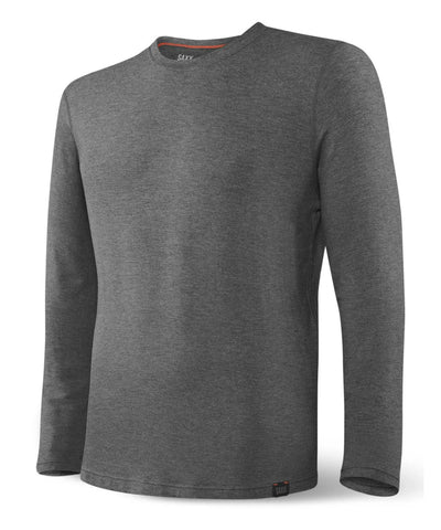 SAXX MEN'S SLEEPWALKER LONG SLEEVE SHIRT - GREY