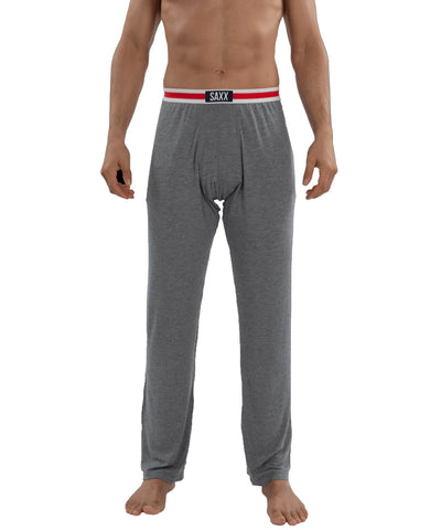SAXX MEN'S SLEEPWALKER PANTS - GREY