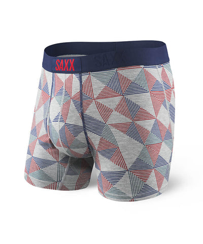 SAXX ULTRA BOXERS - GREY PYRAMID