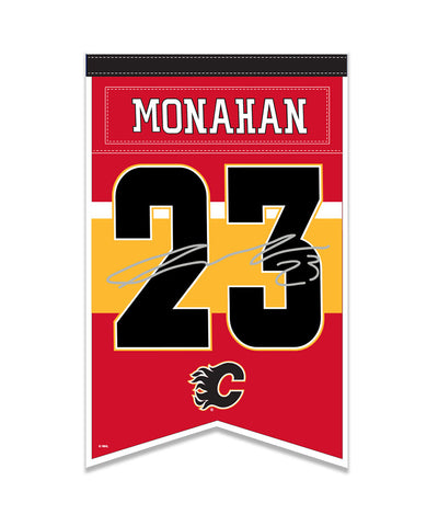 SEAN MONAHAN CALGARY FLAMES PLAYER BANNER