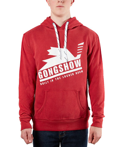 GONGSHOW HOCKEY SR RED CANUCKER 2.0 SWEATER