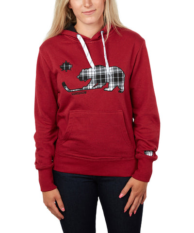 GONGSHOW WOMEN'S ROCK THE RED HOODIE