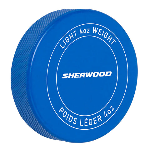 SHERWOOD PRACTICE LIGHTWEIGHT HOCKEY PUCK - 4OZ