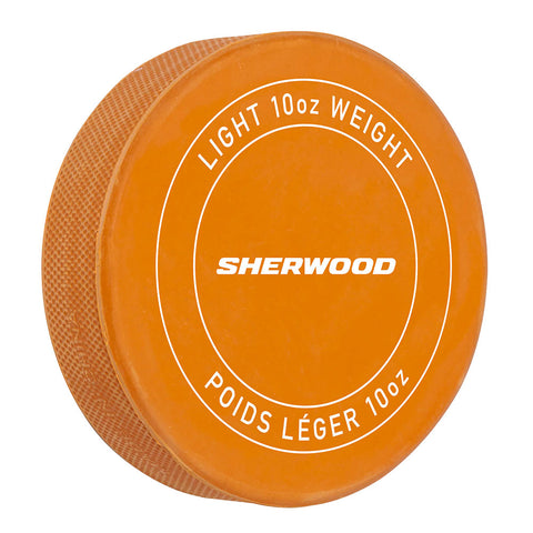 SHERWOOD PRACTICE WEIGHTED HOCKEY PUCK - 10OZ