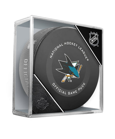 SAN JOSE SHARKS 2019 OFFICIAL GAME PUCK