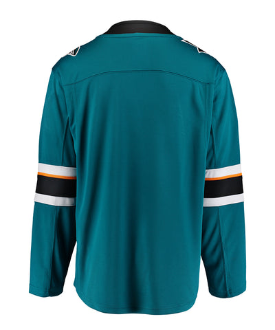 FANATICS SAN JOSE SHARKS MENS HOME BREAKAWAY JERSEY