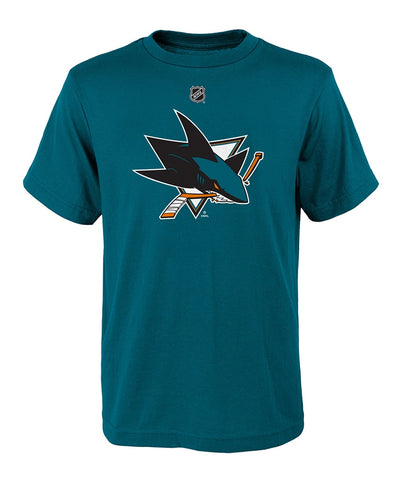 SAN JOSE SHARKS KID'S PRIMARY LOGO T SHIRT