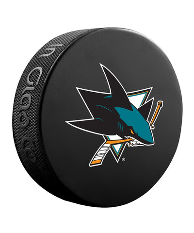 SAN JOSE SHARKS NHL HOCKEY PUCK