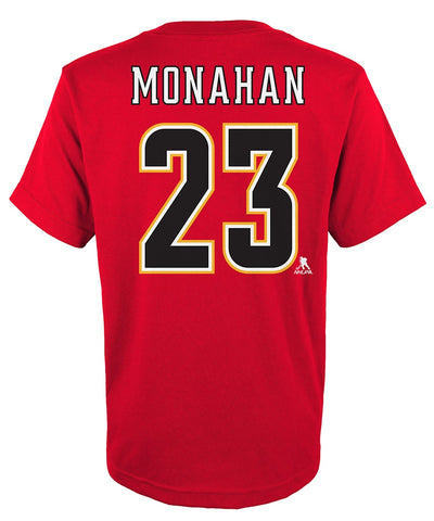 SEAN MONAHAN CALGARY FLAMES JUNIOR PLAYER T SHIRT