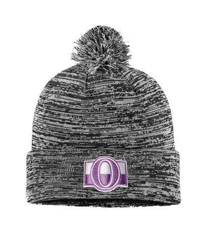OTTAWA SENATORS FANATICS MEN'S HOCKEY FIGHTS CANCER 2018 CUFFED KNIT TOQUE