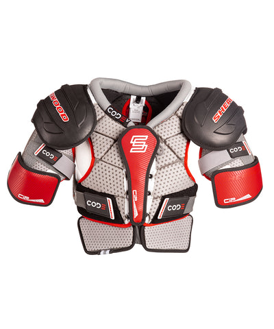 SHERWOOD CODE V SENIOR SHOULDER PADS