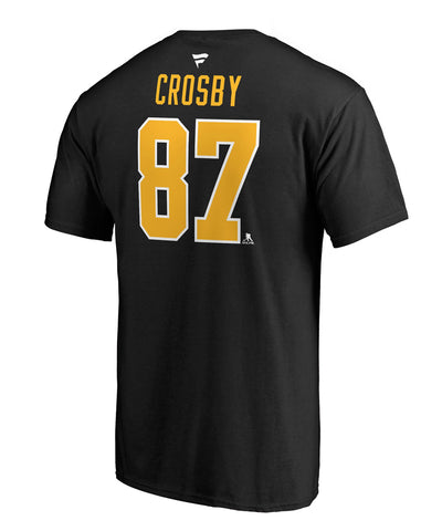 SIDNEY CROSBY PITTSBURGH PENGUINS FANATICS MEN'S NAME AND NUMBER T SHIRT