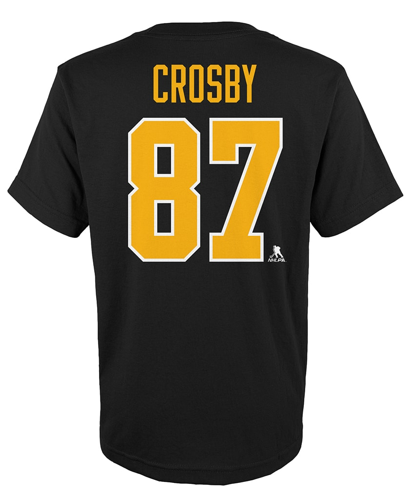 best service 57974 8a452 SIDNEY CROSBY PITTSBURGH PENGUINS KIDS PLAYER T SHIRT