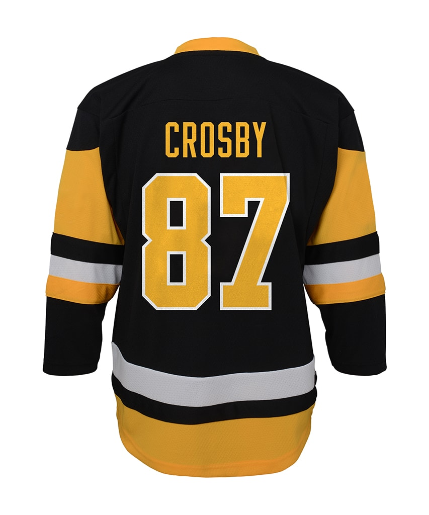 reputable site 908ac 48f28 SIDNEY CROSBY PITTSBURGH PENGUINS TODDLER REPLICA JERSEY - 18M