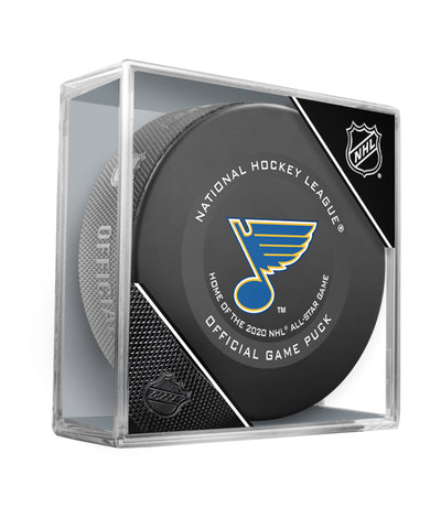 ST. LOUIS BLUES 2019 OFFICIAL GAME PUCK