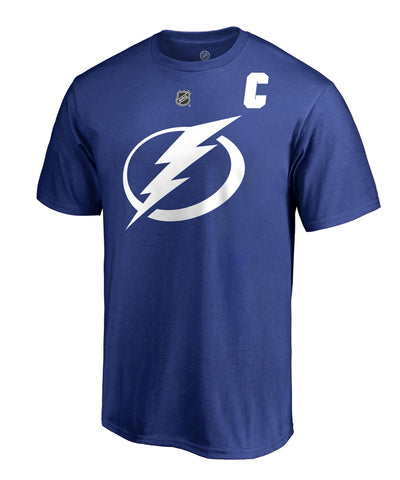 STEVEN STAMKOS TAMPA BAY LIGHTNING FANATICS MEN'S NAME AND NUMBER T SHIRT