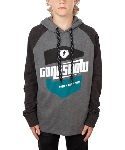 GONGSHOW KIDS COMFORTABLY FAST HOODIE