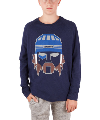 GONGSHOW KID'S HOCKEY BOT LONG SLEEVE CREW