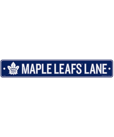 "TORONTO MAPLE LEAFS 4""X23"" STANDARD STREET SIGN"