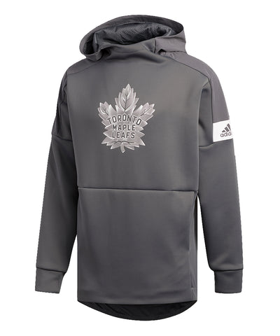 TORONTO MAPLE LEAFS ADIDAS MEN'S GAME MODE PO HOODIE - GREY