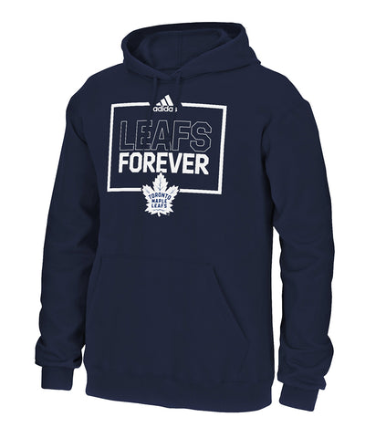 TORONTO MAPLE LEAFS ADIDAS MEN'S PLAYOFFS FOREVER HOODIE