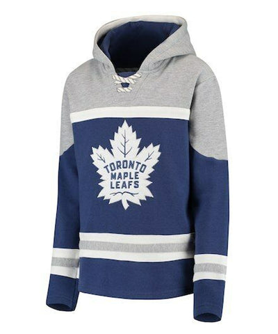 TORONTO MAPLE LEAFS KID'S ASSET LACE UP HOODIE